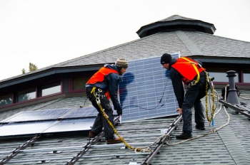 Woodland Park Zoo Solar Panels Installed