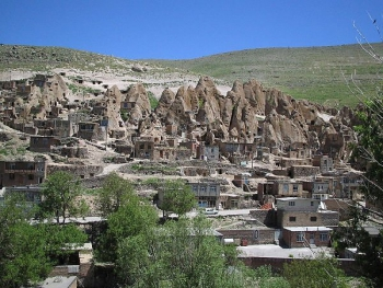 Iran Rock House Village