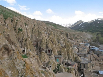 Iran Rock Houses Village