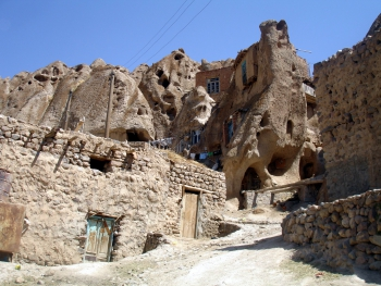 Iran Rock Cone Houses