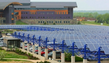 Epic Systems Solar Parking