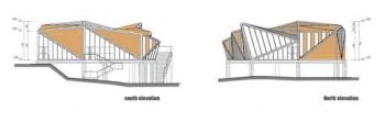 Tianmen Restaurant Elevations