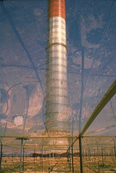 Solar Updraft Tower through Collector