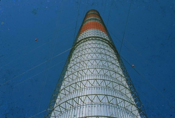 Solar Updraft Tower in Manzanares Spain