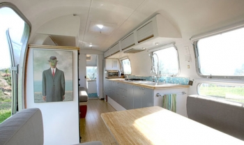 Airstream 1978 Renovation Interior