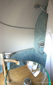 Airstream 1978 Renovation Shower