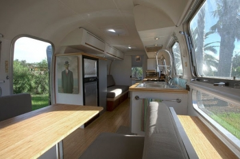 Airstream 1978 Interior Renovation