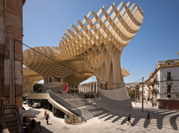 Metropol Parasol New and Old