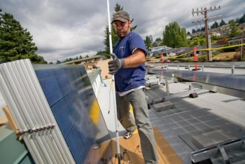 Edmonds WA Community Solar Installation2