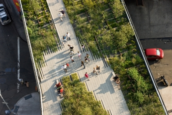 Highline Park from Above