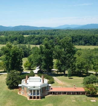 Poplar Forest from Above