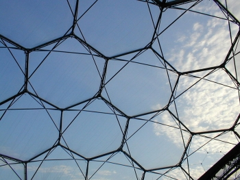 Eden Project Hexangle Structure