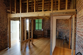 Poplar Forest Interior Bedroom