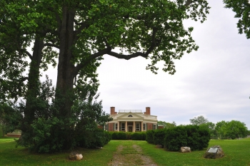 Poplar Forest North Side Landscape