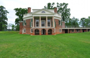 Poplar Forest Sunken South Lawn