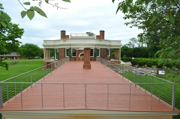 Poplar Forest Wing Terras Roof