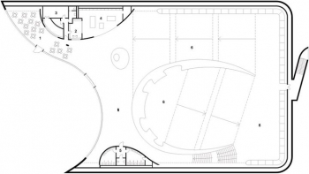 Enzo Ferrari Museum Gallery Floor Plan Level 0