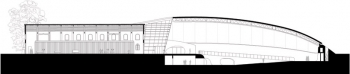 Enzo Ferrari Museum House and Gallery Cross Section