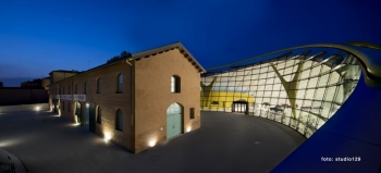 Museo Casa Enzo Ferrari Night