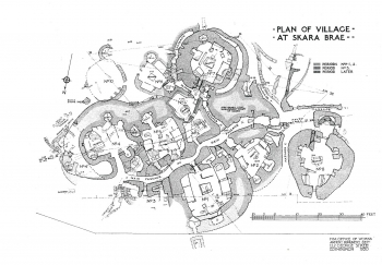 Skara Brae Village Map