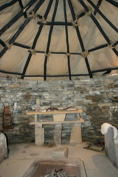 Skara Brae Recreated House