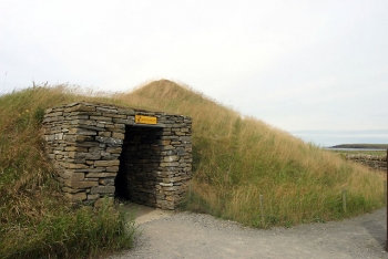 Skara Brae Recreated House Entry
