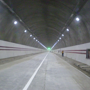 Solar Tunnel Inside
