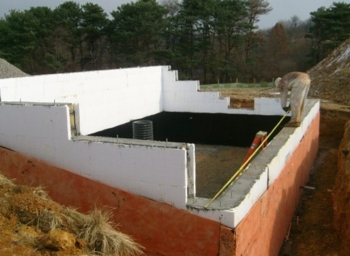 YMCA Solar Greenhouse ICF Insulation