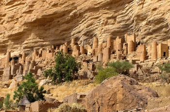 Bandiagara Cliff Dwelling in Mali