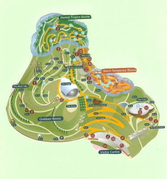 Eden Project Site Map