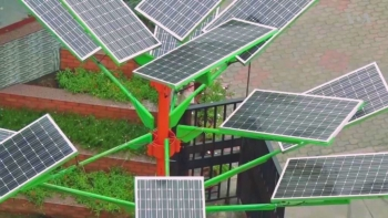 Solar Power Tree India 3