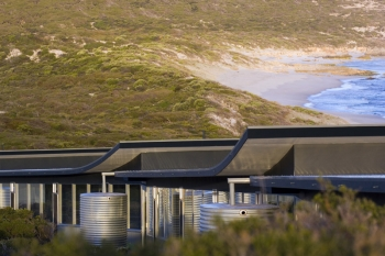 Southern Ocean Lodge Rainwater Collection (Australia)