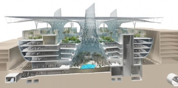 Masdar Headquarters Cutaway (ASGG) (UAE)