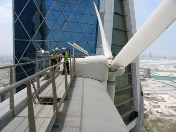 Folly Wind Turbines in Bahrain