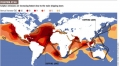 Shipping Lanes Sulfur Emissions Map