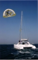 Kiteship on sailboat