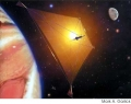 Solar Electric Sails in Space