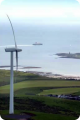 Ardrossan Wind Farm by the Sea