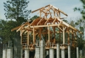 Florida Passive Solar Cracker House Framing