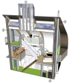 Lighthouse Zero Energy House Cutaway Illustration