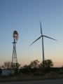 Roscoe wind turbine and windmill