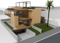 Living Home PreFab Rendering