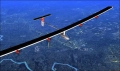 Solar Impulse Airplane in Flight