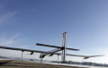 Solar Impulse Airplane Tail End
