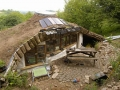Woodland Home in Wales Roof and Patio