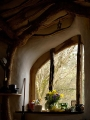 Woodland Home in Wales Window