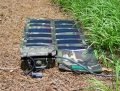 Camping Solar backpacking foldable panels