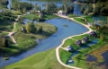 Sun City Latvia Aerial Homes Water