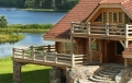 Sun City Latvia House Natural Materials