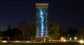 UBC Regent Wind Tower Night